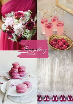 Raspberry Wedding Color Trends and Ideas for Season 2015