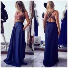 JULYTWO διχρωμο φορεμα..