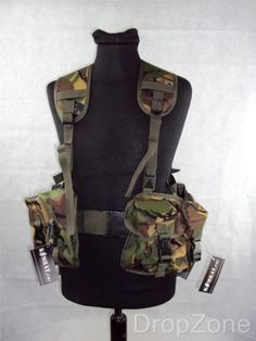 Dpm #woodland ammo military plce webbing set, #pouches, yoke & belt, #paintballin,  View more on the LINK: 	http://www.zeppy.io/product/gb/2/321652173247/