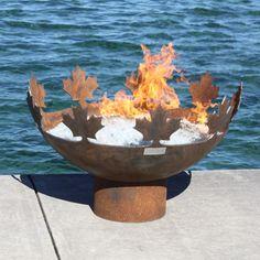 Big Bowl O' Canada Sculptural Firebowl
