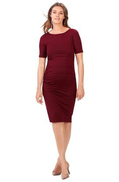 fddd8df9595c5 Isabella Oliver Ruched Maternity Dress available at #Nordstrom Maternity  Dresses, Maternity Photo Outfits,