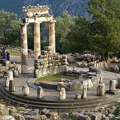 Archaeological Site of Delphi, Prefecture of Phokis, Region of Central Greece, Greece. Inscription in 1987. Criteria: (i)(ii)(iii)(iv)(vi)