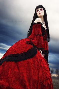 Gothic Velvet Fantasy Wedding