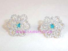 TOPAZ AMERICAN DIAMOND EARRINGS ADTP03131752009