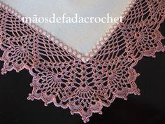 This Pin was discovered by Lil Crochet 101, Crochet Quilt, Thread Crochet, Filet Crochet, Crochet Stitches, Crochet Flower Tutorial, Crochet Lace Edging, Crochet Borders, Crochet Doilies