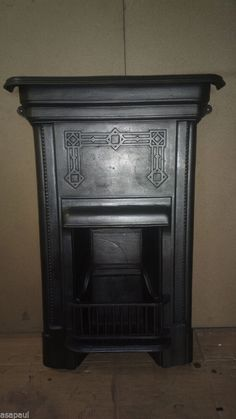 victorian/edwardian cast iron combination fireplace-