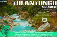 En Tolantongo las corrientes de aguas termales promedian los 35 a 38 grados centígrados.