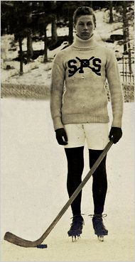 The annual award for college hockey's best player is named after Hobey Baker, who played at St. Paul's in the early 1900s.