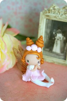Romantic Fairy by TheDollAndThePea on Etsy