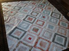 Snippets of a Quilter: Simple Quilt