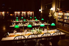 Reception in Bates Hall The Boston Public Library. Photo: Connie Miller for Studio Atticus