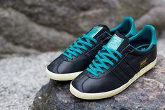 adidas Gazelle OG - Black & Teal • KicksOnFire.com