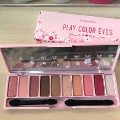 Etude House : Phấn Mắt 10 Màu Ngọt Ngào Etude House Play Color Eyes Cherry Blossom