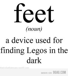 Just a little #foothumor that parents will appreciate!
