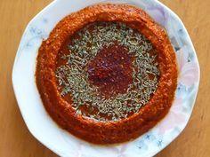 Emel Mutfakta: Kurutulmuş Domates Ezmesi. Turkish Kitchen, Turkish Recipes, Starters, Food And Drink, Appetizers, Pasta, Breakfast, Desserts, Foods