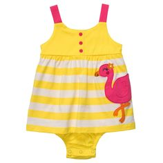 1-Piece Strappy Sunsuit | Carter's Clearance