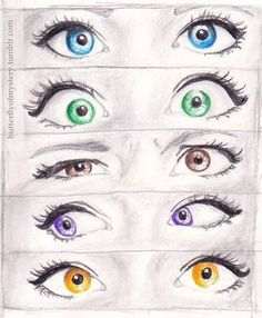 Cute drawings of eyes