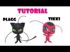 TIKKI & PLAGG LADYBUG TUTORIAL POLYMER CLAY COLD PORCELAIN - YouTube