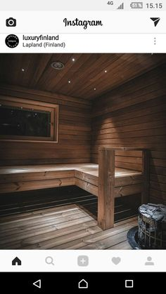 Lapland Finland, Saunas, Scandinavian Style, Home And Living, Decoration, Crafts, Home Decor, Decor, Manualidades