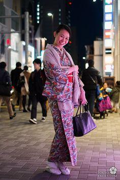 Tokyo Street Fashion (Modern Kimono)