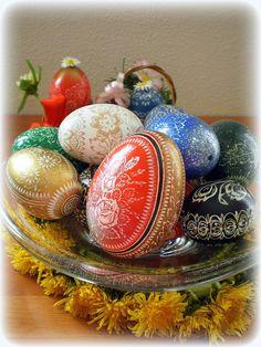 easter eggs  www.mojsladkysvet.blogspot.com