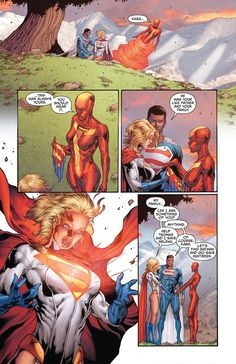 Power Girl Boob Window filled with Superman symbol:  DC Comics will be showing less of Kara Zor-El AKA Power Girl, the Supergirl of Earth 2. The blonde bombshell closes her trademarked boob window in Earth 2: World's End #16.  #comics #cleavage  http://l7world.com/2015/01/power-girl-boob-window-filled-with-superman-symbol.html