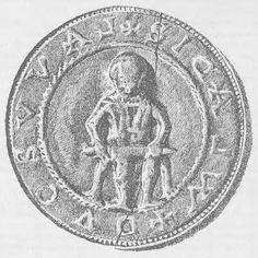 Najstarsza polska pieczęć. Rekonstrukcja według Franciszka Piekosińskiego