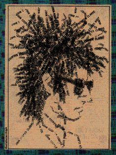 Ian Wright - John Cooper Clarke Illustration