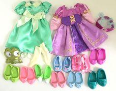 Disney Animators Doll Shoes Clothes Lot