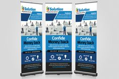 Education roll up banner by business flyers on creativemarket business roll up banners templates creativework247 wajeb Choice Image