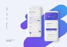 전화 앱 UI 디자인 - UI/UX Web Design Mobile, App Ui Design, User Interface Design, Ad Design, Layout Design, Graphic Design, Wireframe, Ux Design Principles, Creative Poster Design