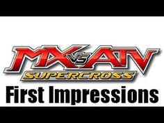 MX vs. ATV: Supercross First Impression-Lets Play