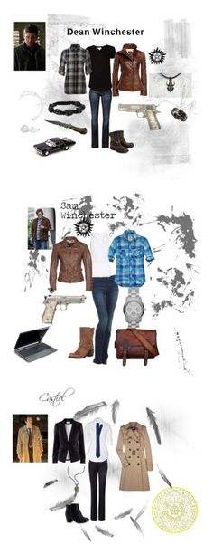 """""""Supernatural"""" by nchavez113 ❤ liked on Polyvore featuring CROSS Jeanswear, Witchery, Vic, Danier, Denim & Supply by Ralph Lauren, 7 For All Mankind, Fiorentini + Baker, Hollister Co., Y-3 and Mauritius"""
