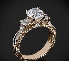 Wedding Jewellery | RosamariaGFrangini | Vintage Diamond Ring