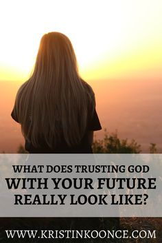 Are you trusting God with your future? In this post, I talk about the importance of having faith in God's provision...even when our obedience doesn't appear logical from a worldly perspective. Click through to read about walking in obedience and trusting God with your future!
