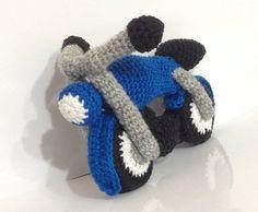 Pattern - Motor Bike - Amigurumi Crochet Pattern / PDF E-book / Stuffed Vehicles…