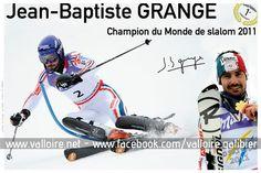 Jean Baptiste Grange - champion du monde de slalom 2011 #valloire