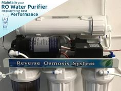 Know why you should maintain your RO water purifier