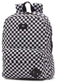d711a16cdb0 Chulísima Mochila Vans Old Skool II Black White Checker disponible ...