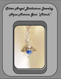 March birthstone jewelry,mothers day jewelry,family birthstone jewelry | ArtisticCreationsbyRose - Jewelry on ArtFire