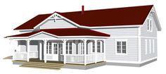 Teri-Talot / Teri-Hus :: Carolina 170 Home Fashion, Mansions, House Styles, Home Decor, Decoration Home, Manor Houses, Room Decor, Villas, Mansion