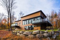 12-249 Laurentians Home / BONE Structure® | ArchDaily