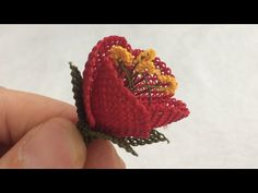 Making rose for hijab, Needle Tatting, Needle Lace, Basic Embroidery Stitches, Hand Embroidery, Motif Zigzag, Magazine Bowl, Knitted Flowers, Thread Art, Earring Tutorial