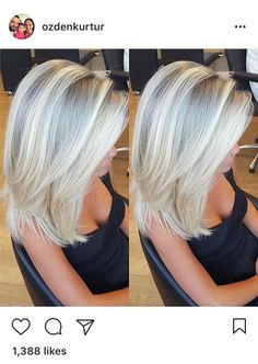 49 variations in blonde hair colors to use in 2019 00044 – nothingideas Hair Styles 2016, Short Hair Styles, Short Thin Hair, Hair Color And Cut, My Hairstyle, Great Hair, Hair Today, Hair Dos, Gorgeous Hair
