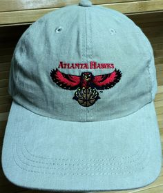 Atlanta Hawks Khaki Colored Adjustable Strapback Cap by CoryCranksOutHats on…