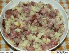 Gnocchi with smoked meat and sauerkraut - Gnocchi with smoked meat and sauerkraut - Polish Recipes, Healthy Diet Recipes, Smoking Meat, Sauerkraut, What To Cook, Gnocchi, Potato Salad, Cabbage, Food And Drink