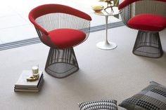 natural flooring doesn't have to be boring. This woollen carpet in iconic chevron design brings depth and interest. Shop the range here. Wool Carpet, Rugs On Carpet, Carpets, Carpet Fitting, Alternative Flooring, Natural Flooring, Home Improvement Contractors, Interior Stylist