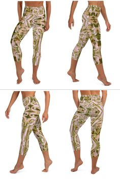 These yoga capri leggings with a high, elastic waistband are the perfect choice for yoga, the gym, or simply a comfortable evening at home. Yoga Capris, Capri Leggings, Flourish, Stretch Fabric, Harem Pants, Fashion, Moda, Harem Jeans, Fashion Styles