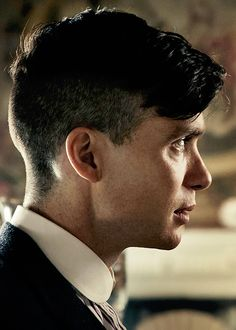 Cillian Murphy as Tommy Shelby. Can't wait for the scene when the Peaky Blinders pay a visit to Downton and Arthur and the boys tear it up!