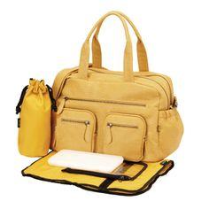 Faux Buffalo Carry All Diaper Bag Image